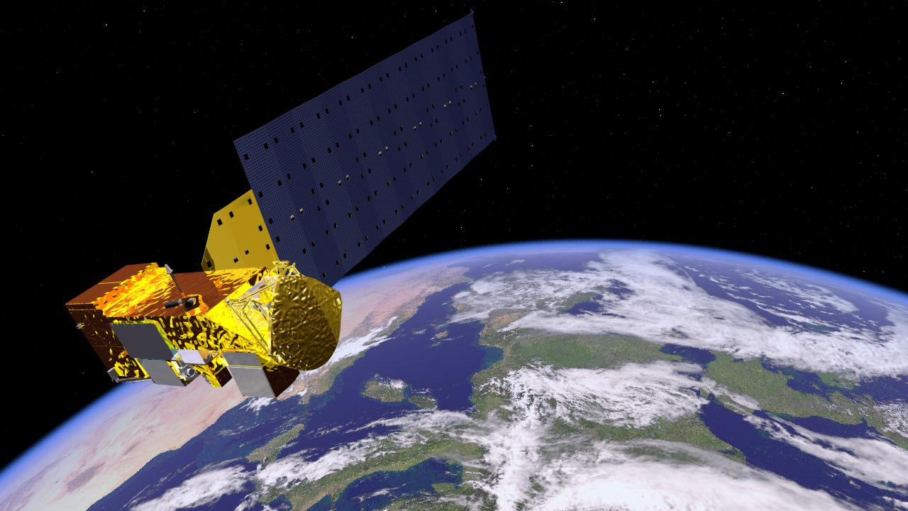 """Forskerteamet lykkes med å """"teleportere"""" informasjon mellom en partikkel på en satellitt og en på jorden."""