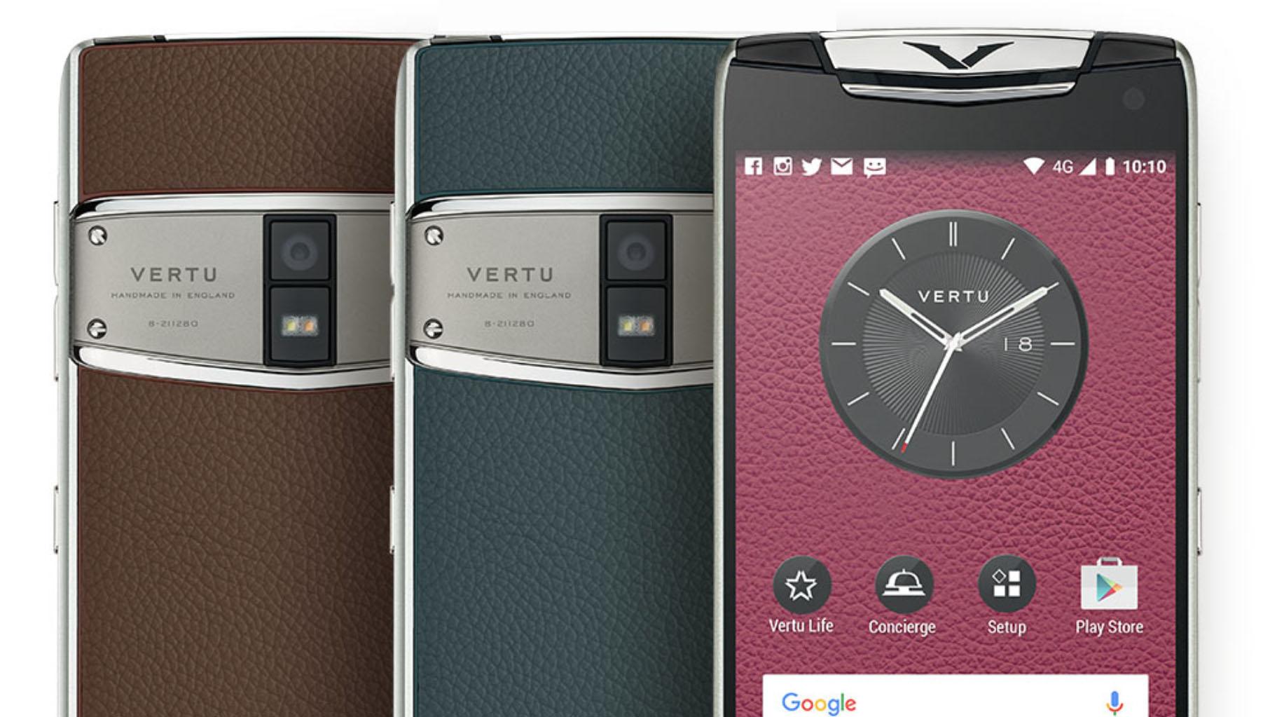 Flere av Vertus telefoner kostet over 100 000 kroner, nå har de milliardgjeld og går konkurs.
