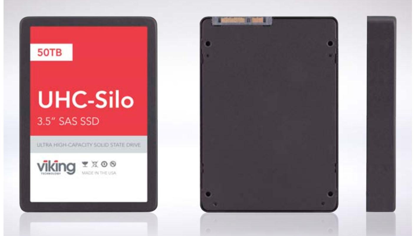 Viking UHC-Silo-er en av verdens største SSDer.