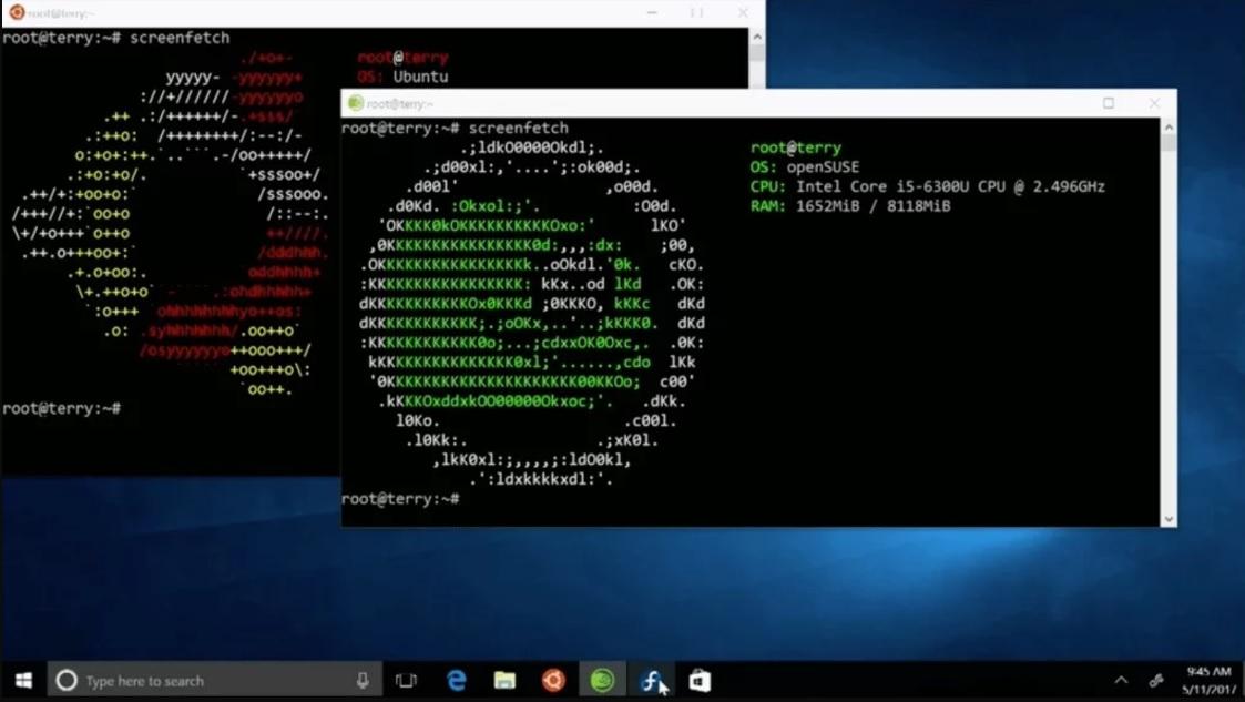 Ubuntu kan nå lastes ned i Windows Store etter installasjon av Linux-pakken til tiern.