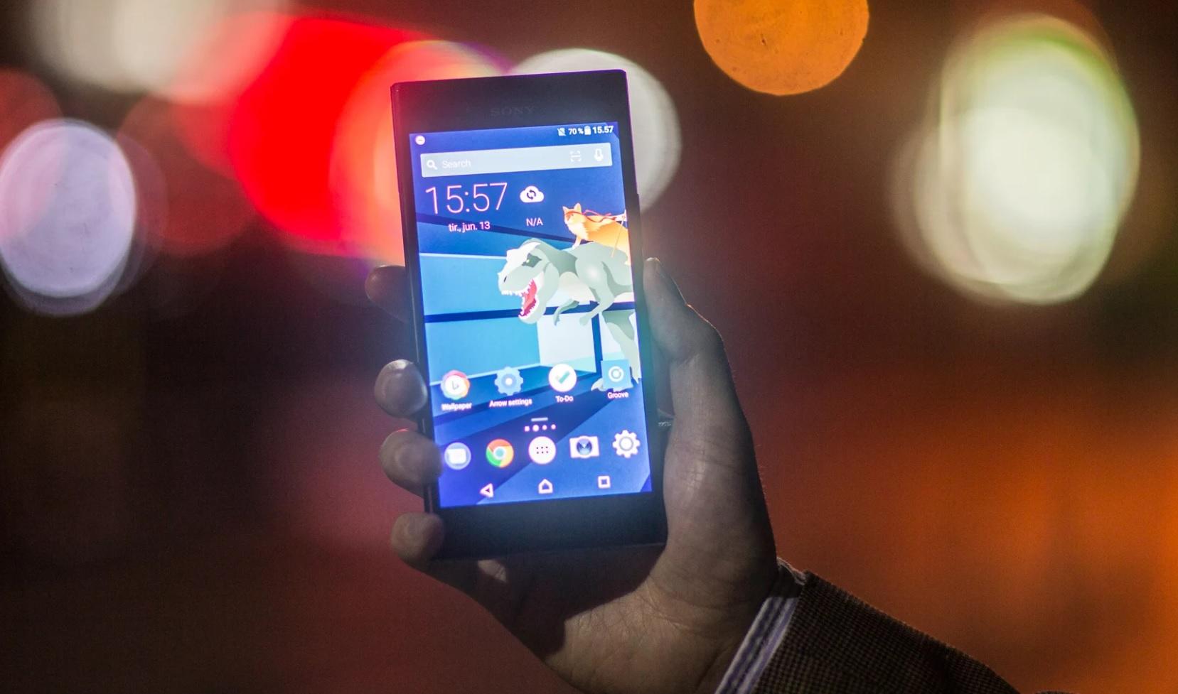 Noen Android-mobiler med 7.1 har panikk-modus for å hjelpe brukeren ut av en farlig app.