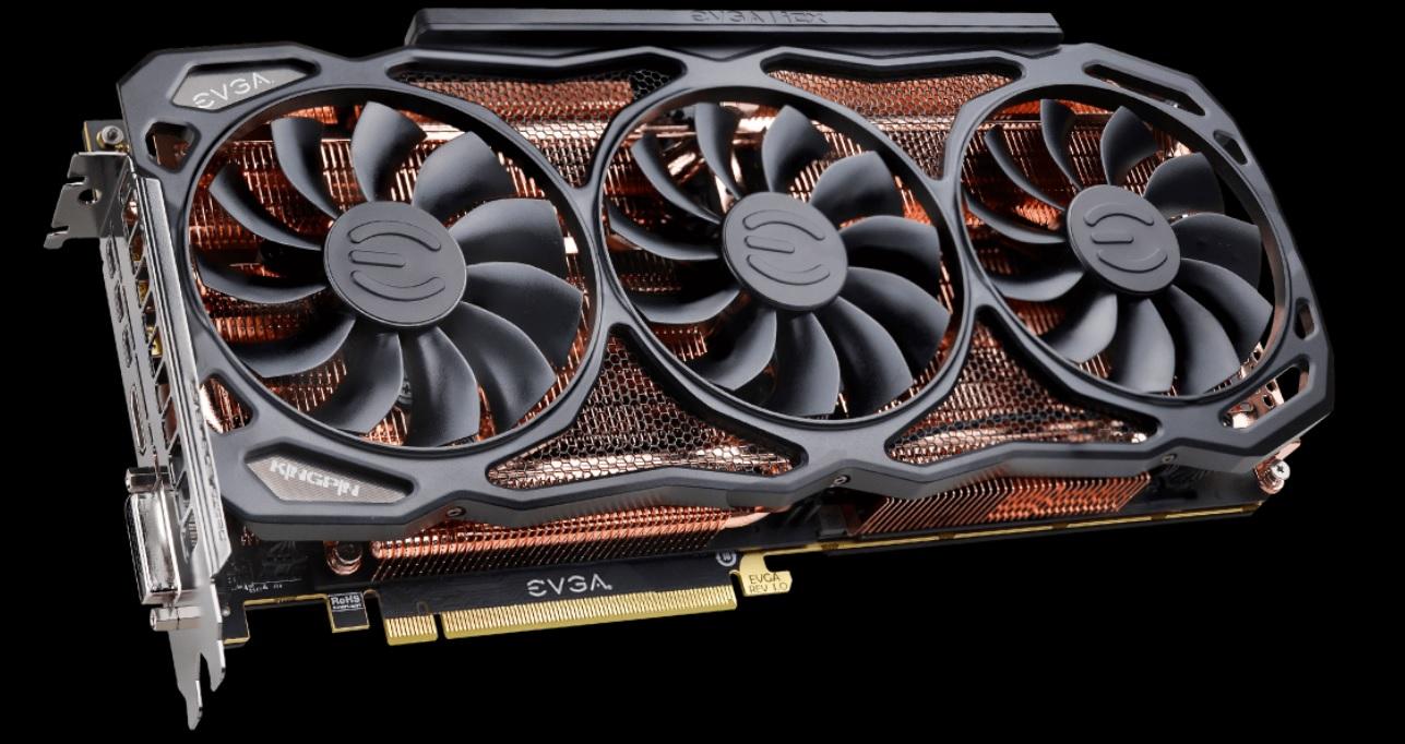 EVGA GeForce GTX 1080 Ti K|NGP|N lanseres snart. Norsk pris eller lanseringsdato er ikke kjent.