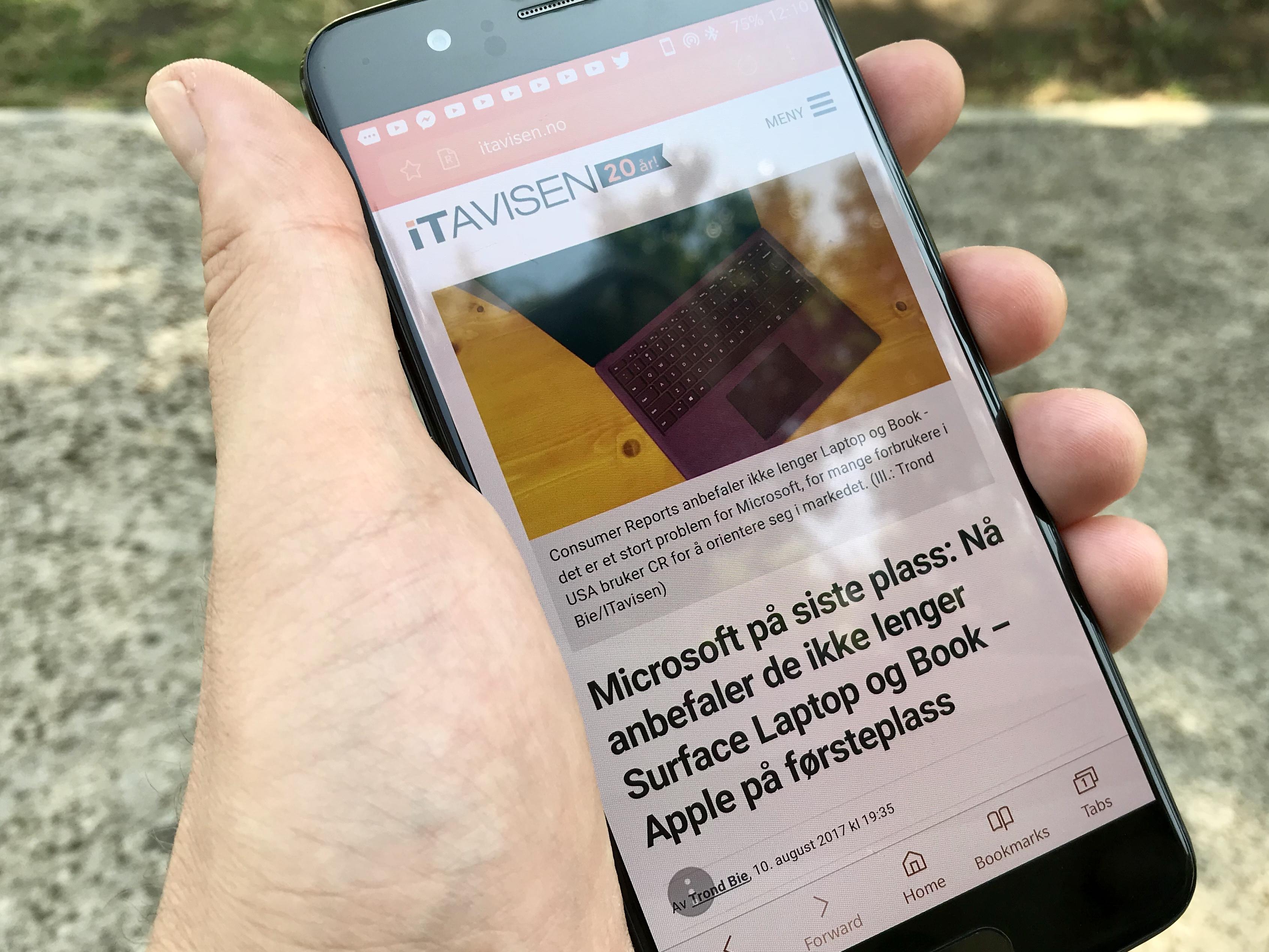 Beta-versjonen av Samsungs nettleser til Android har versjonsnummer 6.2 og er en god nettleser og et alternativ til Chrome.