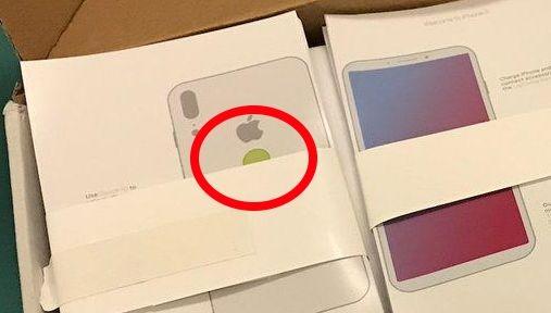 Som alltid er det kamera-fokus fra Apple og iPhone, men dette året blir ekstra spesielt med introduksjonen av AR-maskinvare. Bildet skal være av innpakningen som avslører fingersensor på baksiden.