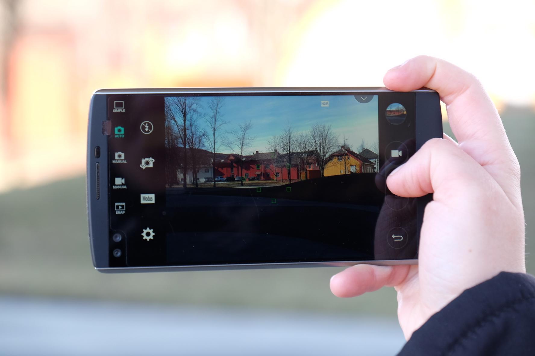 LG tror at V30 kan bli den beste kameramobilen på markedet.