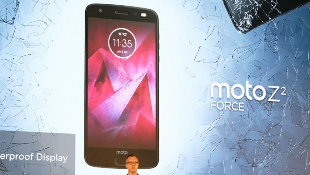 Lenovos nye mobil, Moto Z 2.