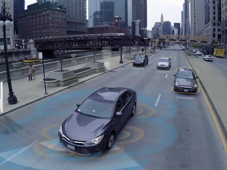 Intel skal nå teste sin egen selvkjørende teknologi i en rekke bilmodeller.