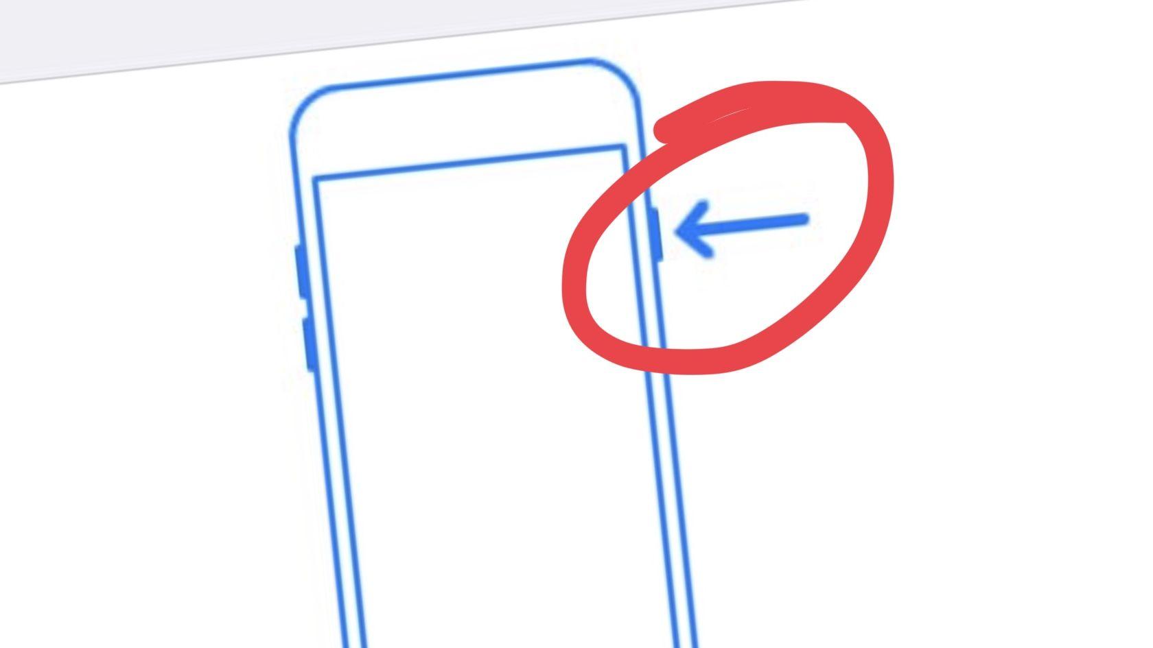 Fem trykk på på-knappen deaktiverer Touch ID til koden tastes.