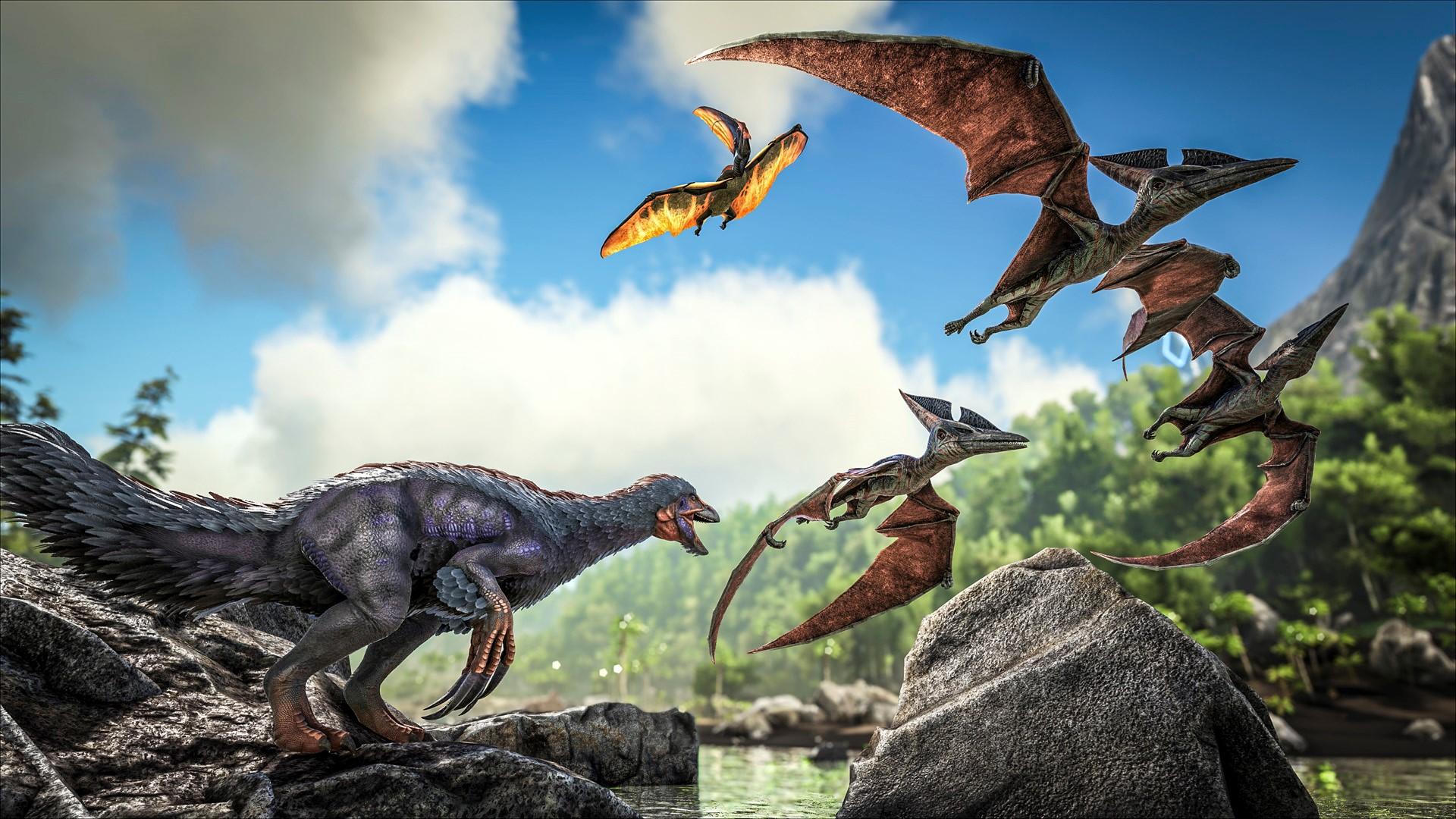 Ark Survival Evolved lanseres snart.