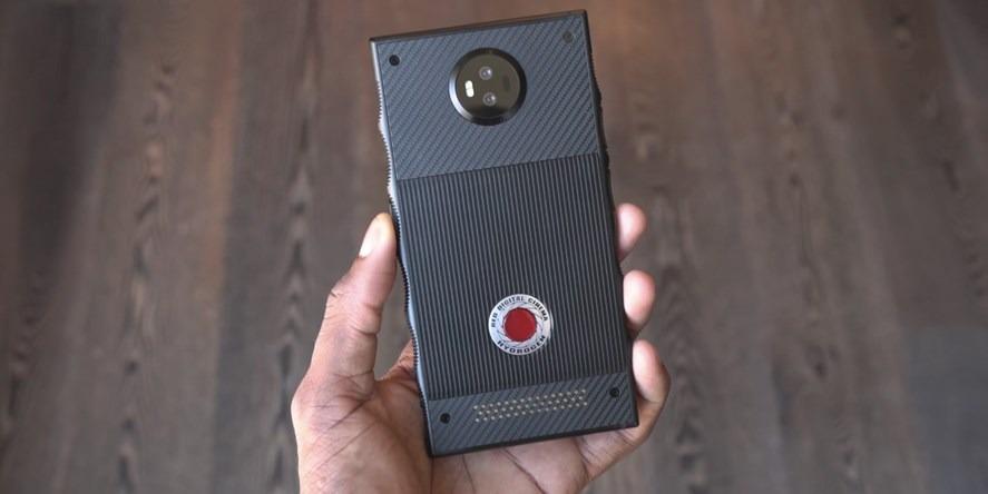 Hydrogen One er en stor telefon.
