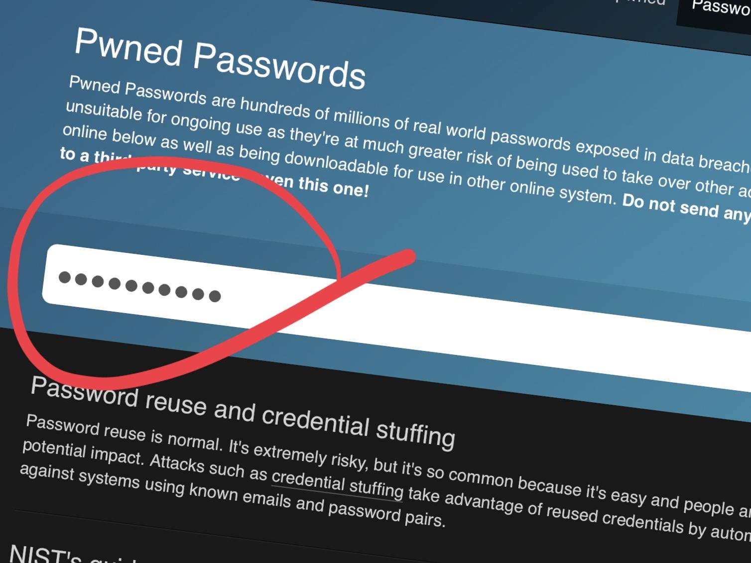 Du kan nå søke etter usikre passord.