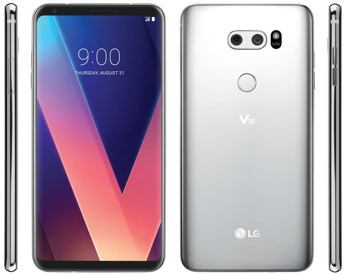 Dette er LG V30.
