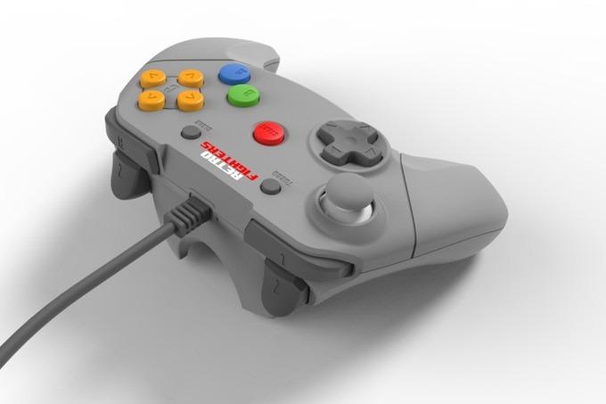 Kontrolleren har likheter med Switch Pro-kontrolleren.