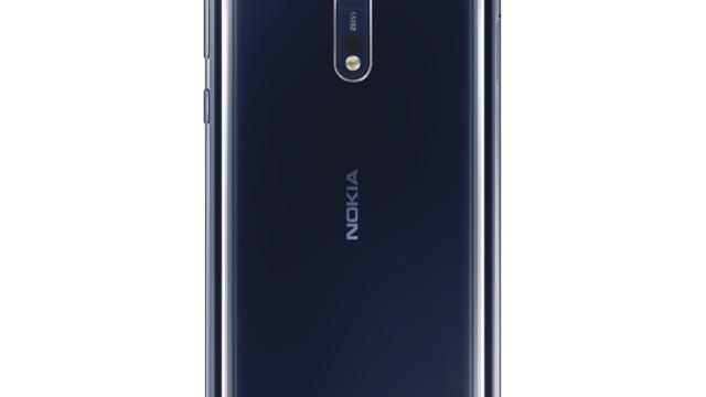 Nokia 8 Polished Blue.