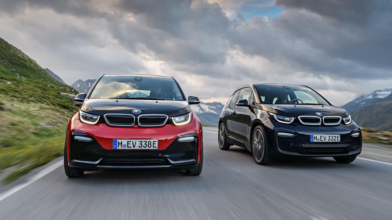 Her er nye BMW i3 og i3s.
