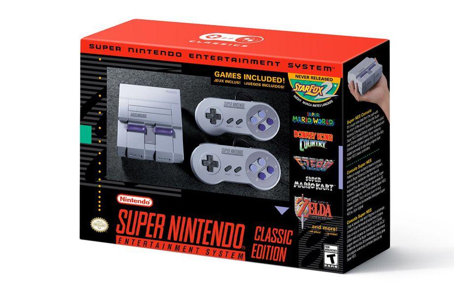 SNES Classic Edition nærmer seg lansering.