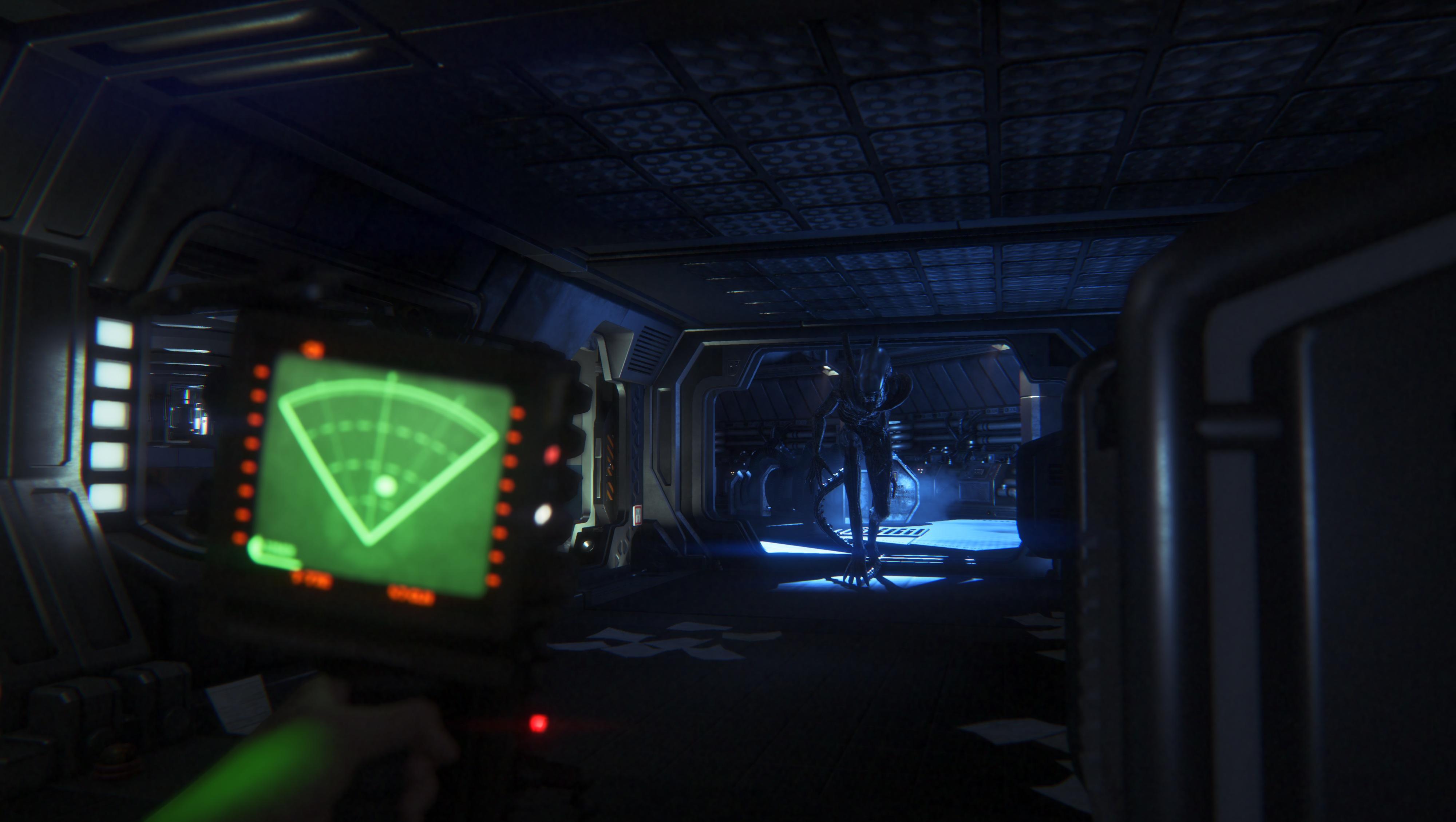 Du kan spille Alien: Isolation med Rift... om du tør.