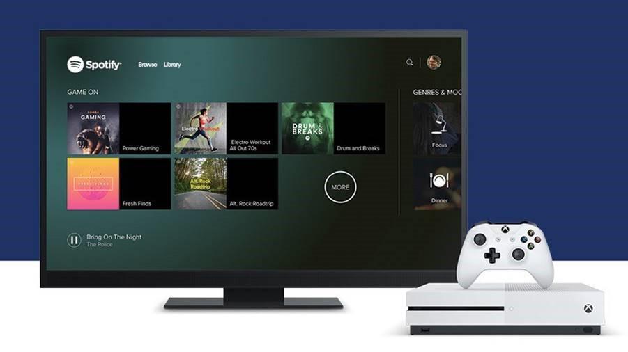 Endelig er Spotify å finne på Xbox One og kan styres med Spotify Connect.
