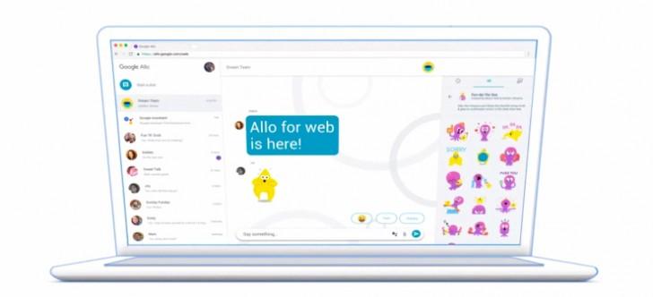 Allo er tilgjengelig i en nettleser nær deg så lenge det er Chrome.