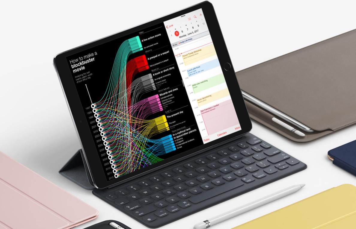 Microsoft har iPad-tilbehør på vei, trolig til nye iPad Pro 10,5.