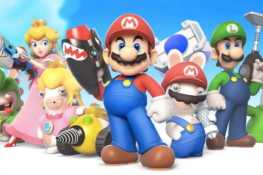 Mario-karakterne utstyres med skytere .. for første gang?