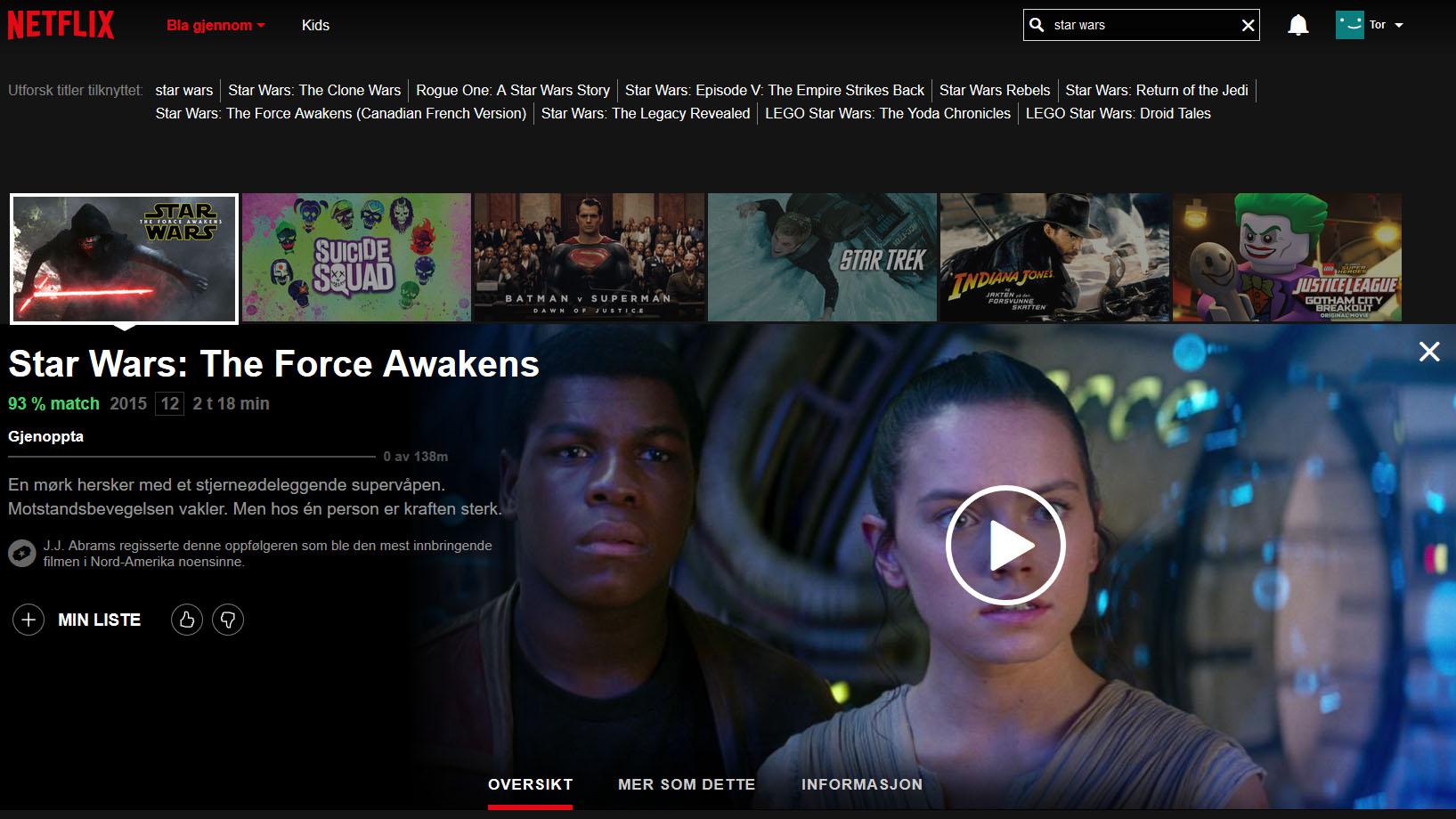 Disney kan fortsatt være på glid mot å la Netflix beholde filmer fra Marvel og Lucasfilm etter 2018.