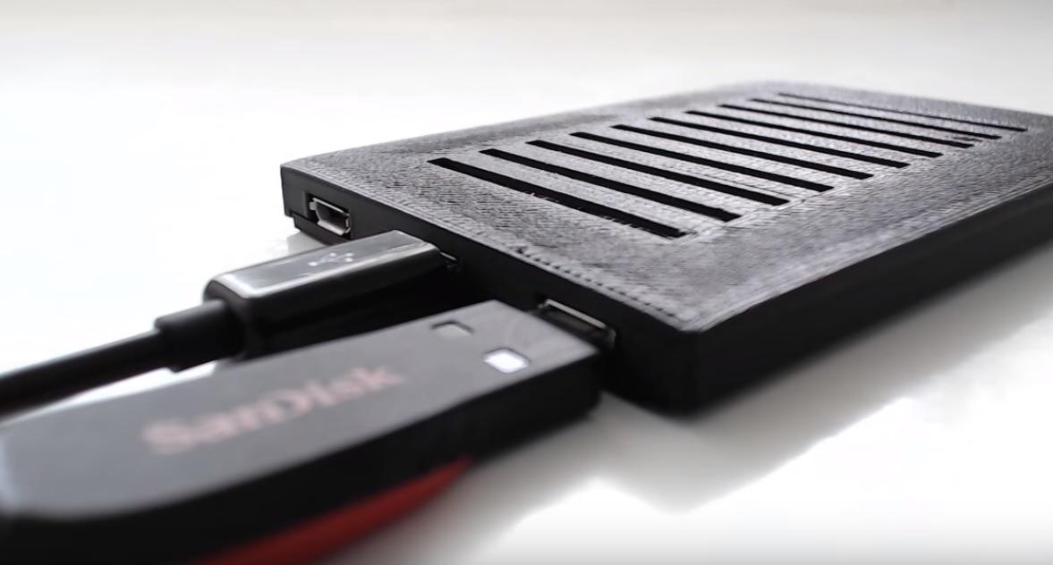 Flat og smart: Raspberry 3 Slim.