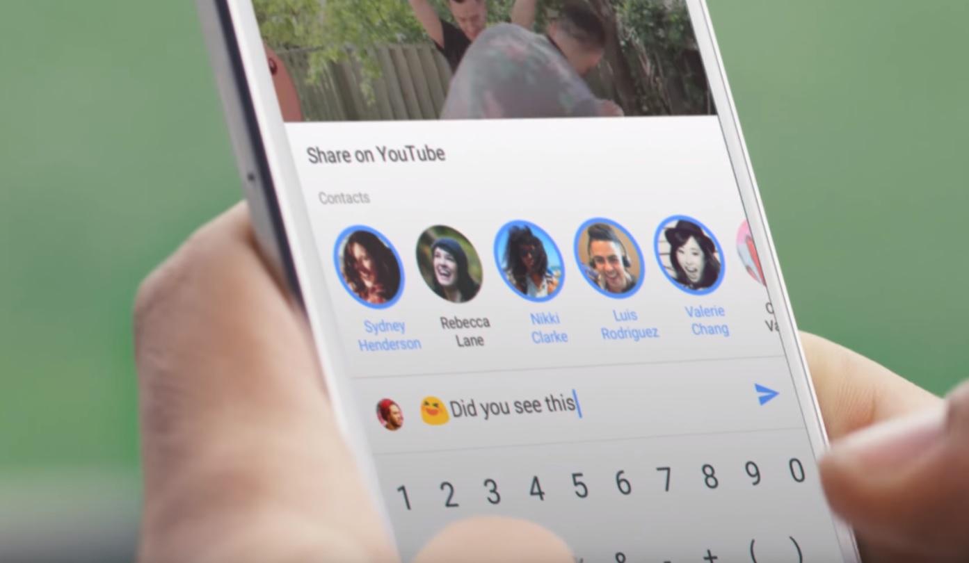 YouTube oppgraderer appene sine for enklere deling og kommunikasjon.