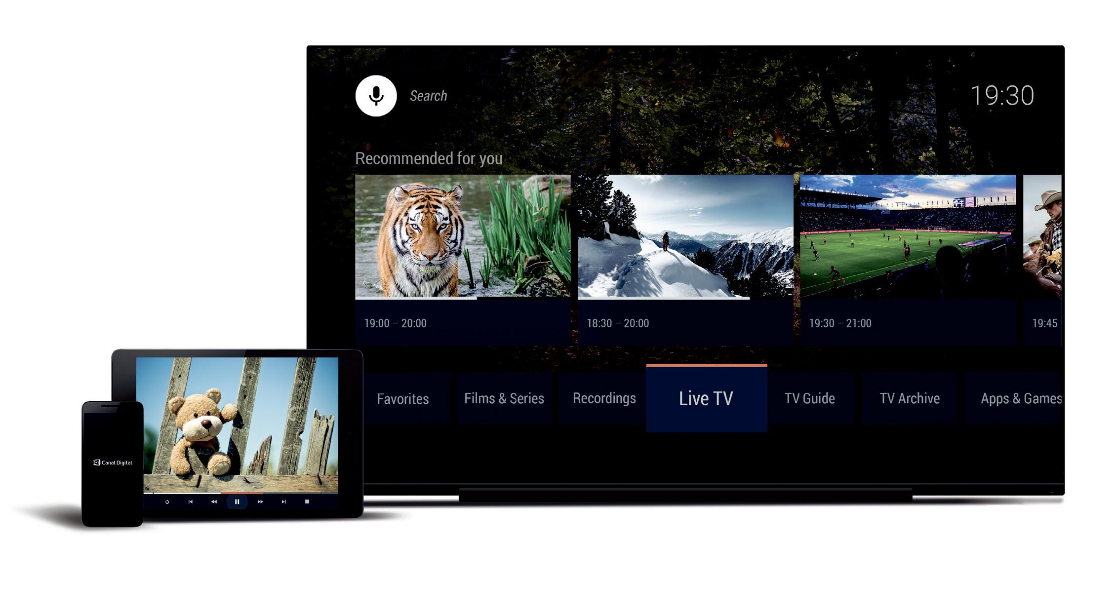 Canal Digital satser på Android TV.
