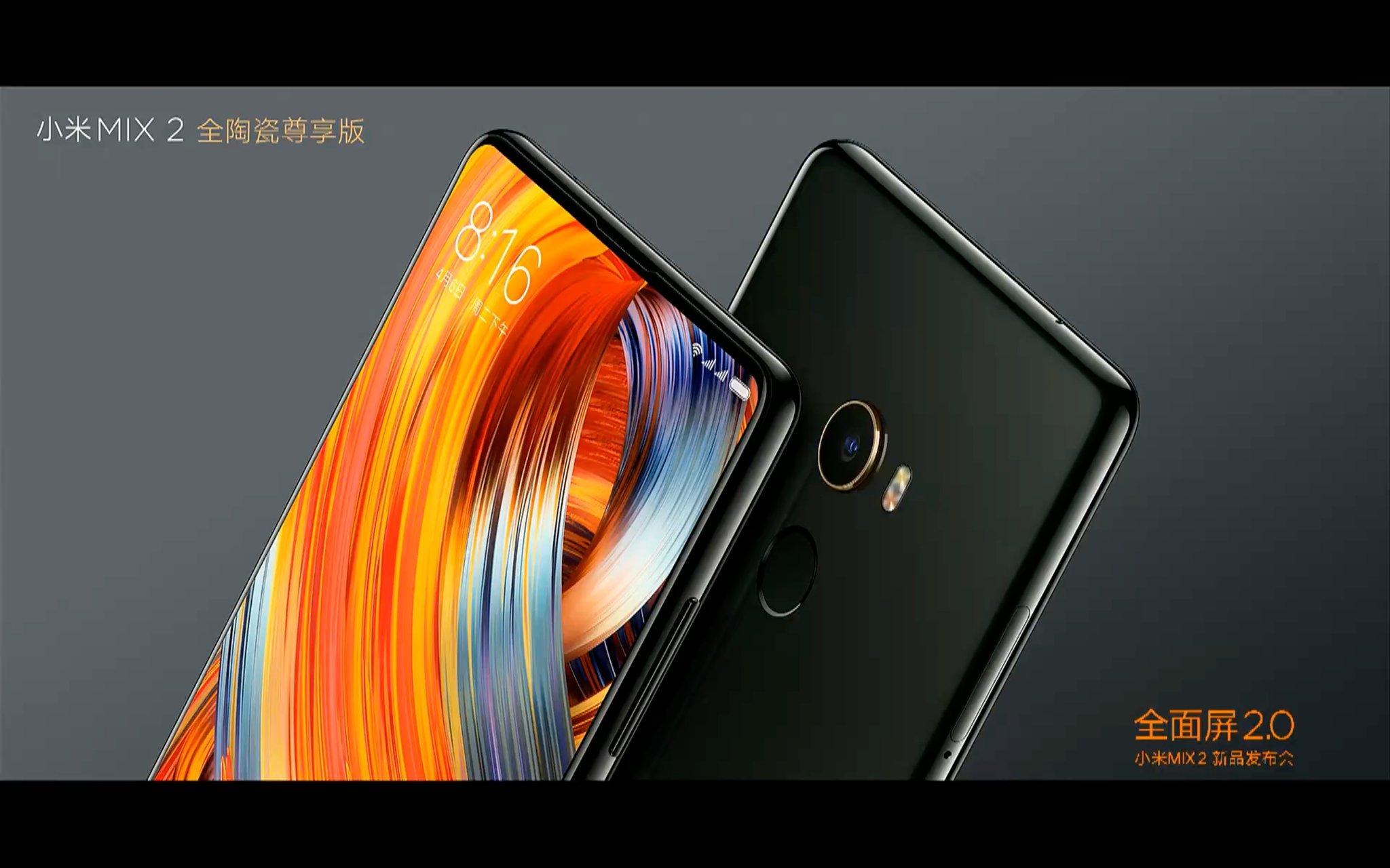 Xiaomi Mi Mix 2 er offisiell.