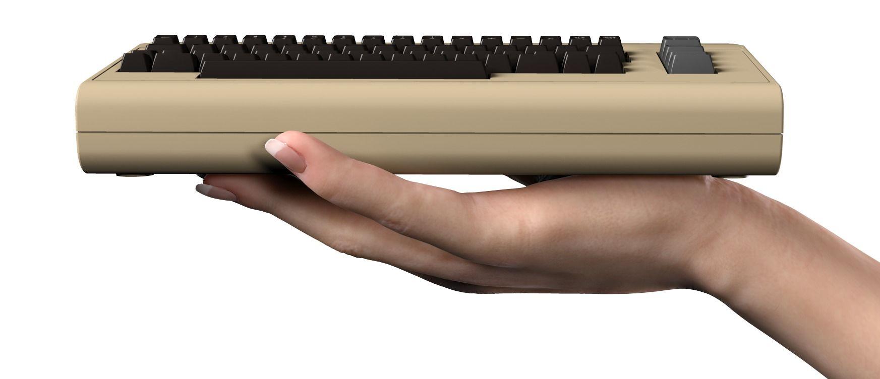 C64 Mini lanseres i 2018.