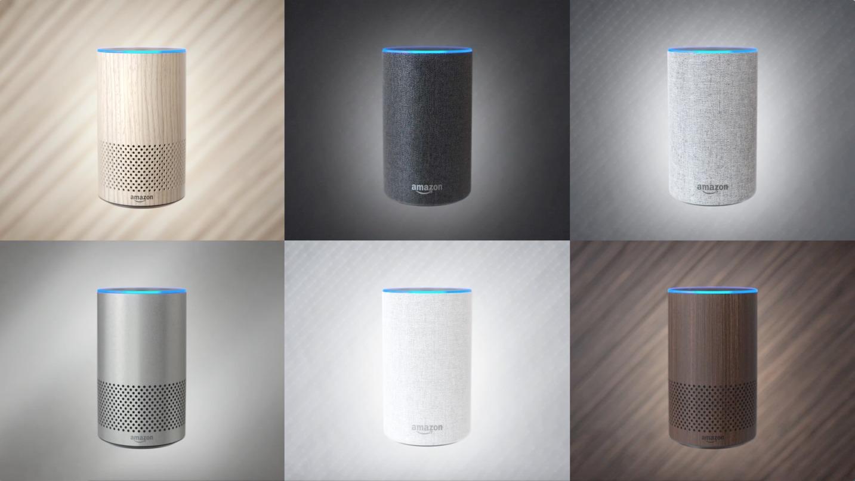 Her er nye Amazon Echo.