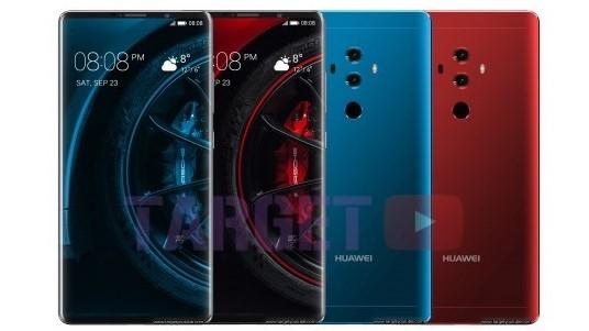 Her er Huawei Mate 10 Pro.