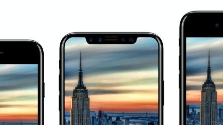 iPhone 8, X og 8 Plus.