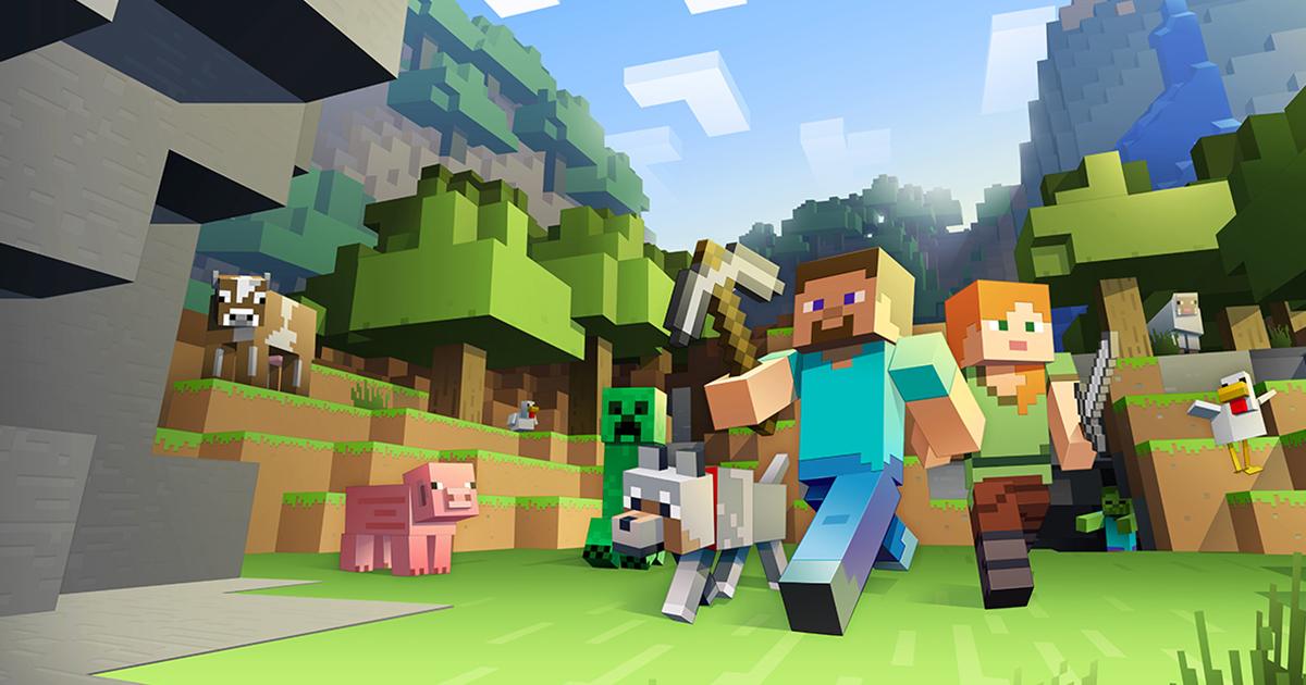 Microsoft kjøpte Minecraft i 2014.