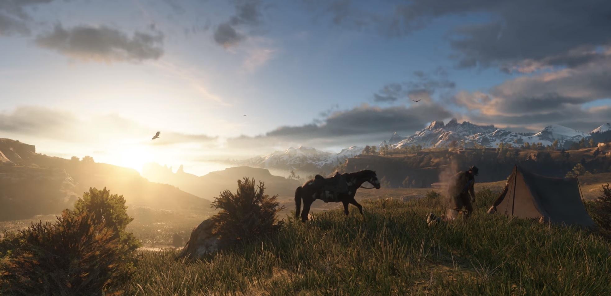 Read Dead Redemption 2 slippes våren neste år.