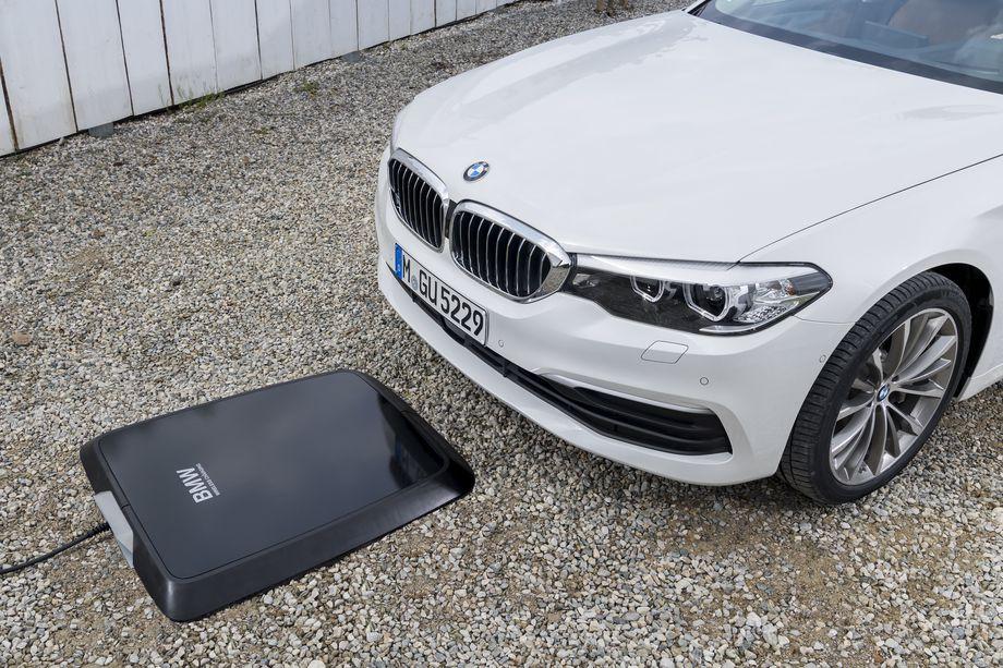 Slik ser den ut, BMWs trådløse lader.