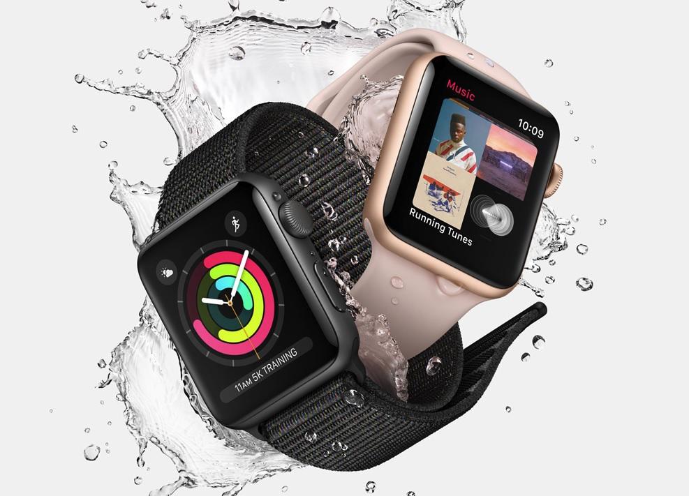 Apple Watch Series 3 varer i opp til 18 timer.