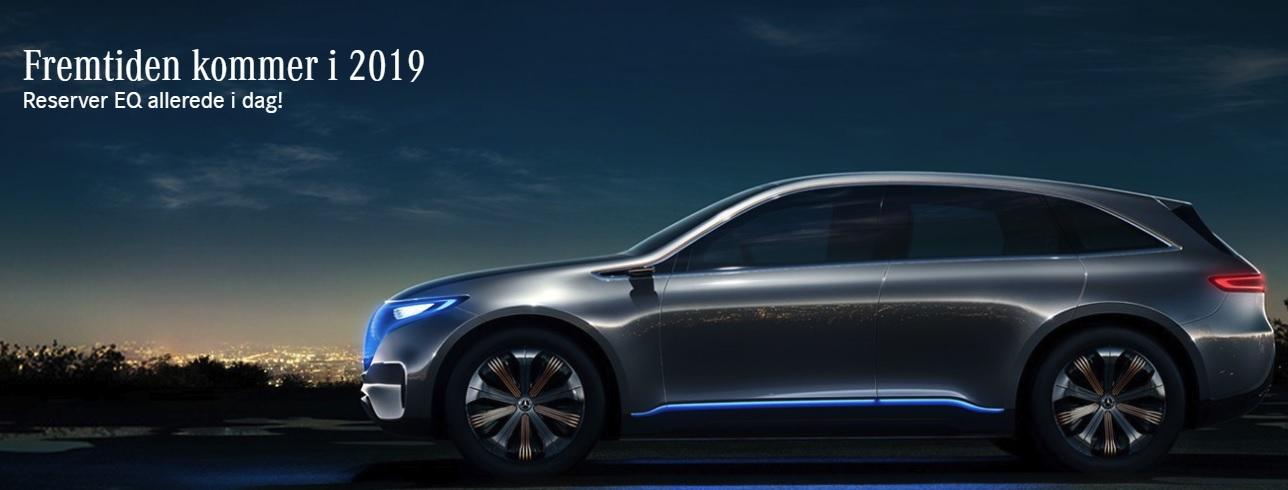 Nå kan nordmenn reservere Mercedes sin nye elbil.