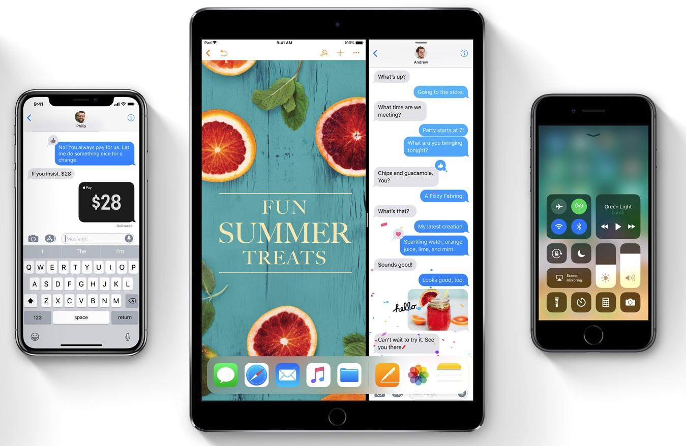 """iOS 11.1 lanseres i høst, trolig samtidig med iPhone X 3. november. Apple bruker allerede """"Pay Cash"""" i markedsføringen."""