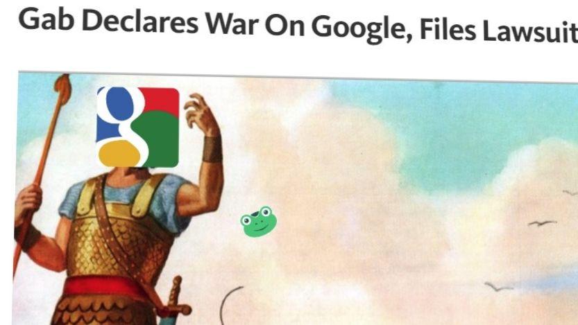 Gab har gått til søksmål mot Google etter at de kastet ut appen deres fra Play Store. De bruker antimonopol-lover i kampen mot giganten.