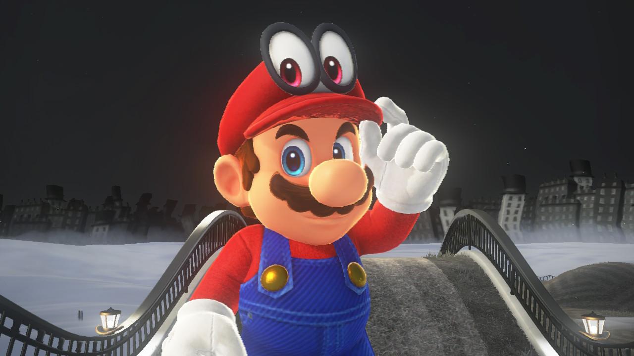 Mario og Cappy - den nye kompanjongen.
