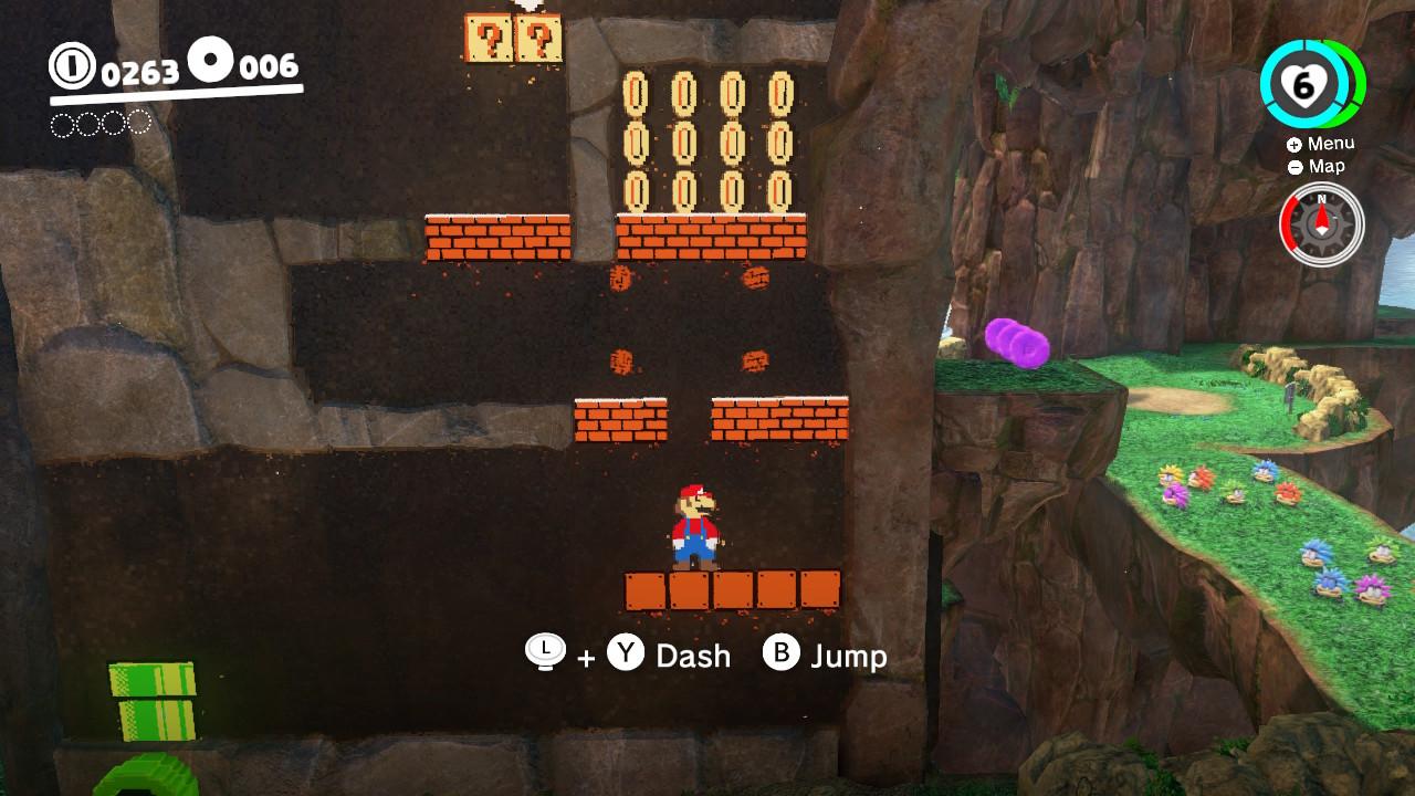 Mye nytt og litt gammelt i Super Mario Odyssey.