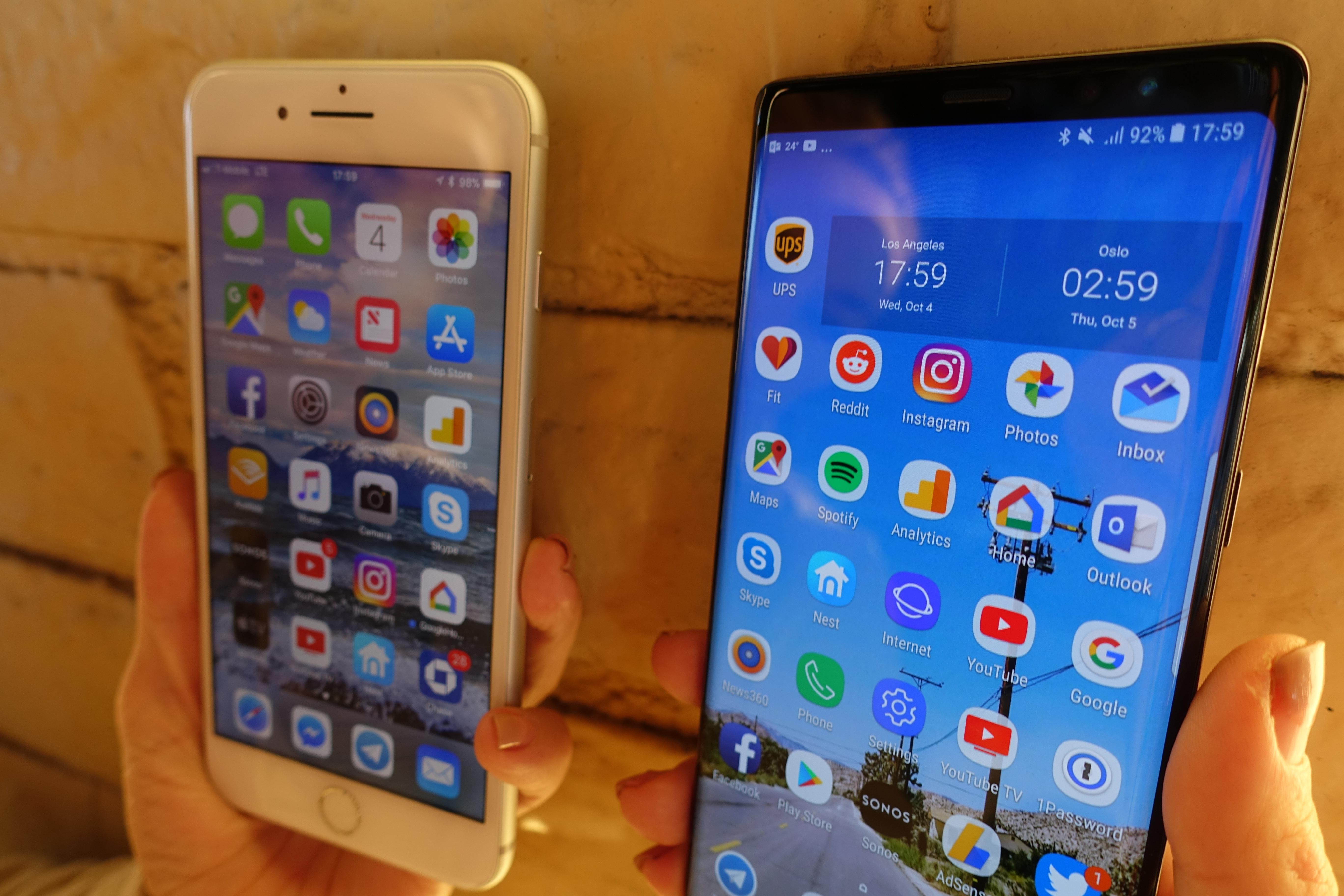 Dette er helt klart to veldig gode mobiler man vil ha mye glede av i mange år.