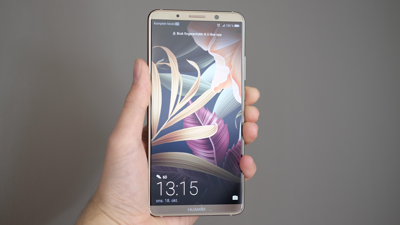 Her er den: Huawei Mate 10 Pro.