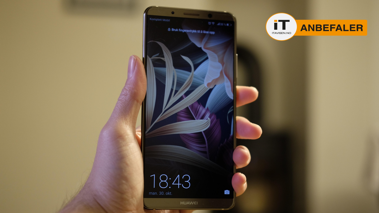 Huawei Mate 10 Pro er en av årets beste smarttelefoner.