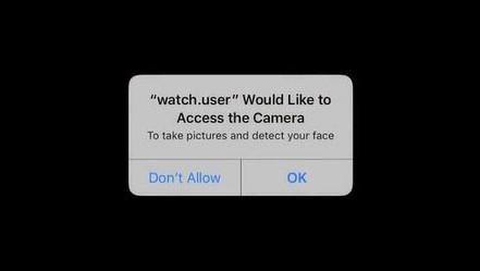 Så fort man har gitt tilgang, kan appen i teorien bruke kameraet når som helst når appen er aktiv.