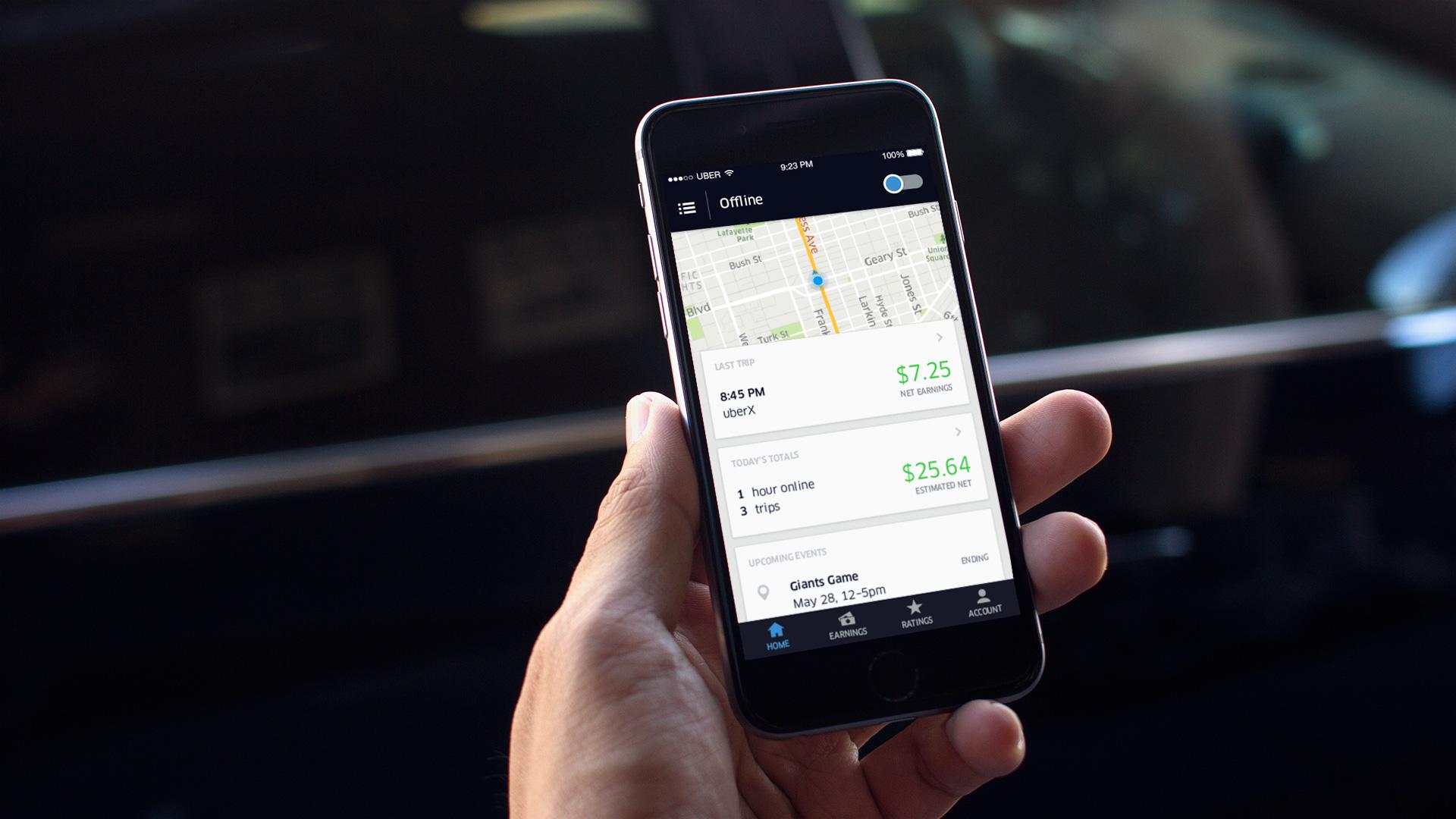 Uber fjernet funksjonalitet etter avsløring.