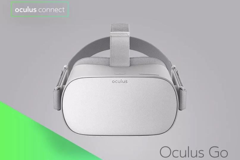 Dette er Oculus Go.