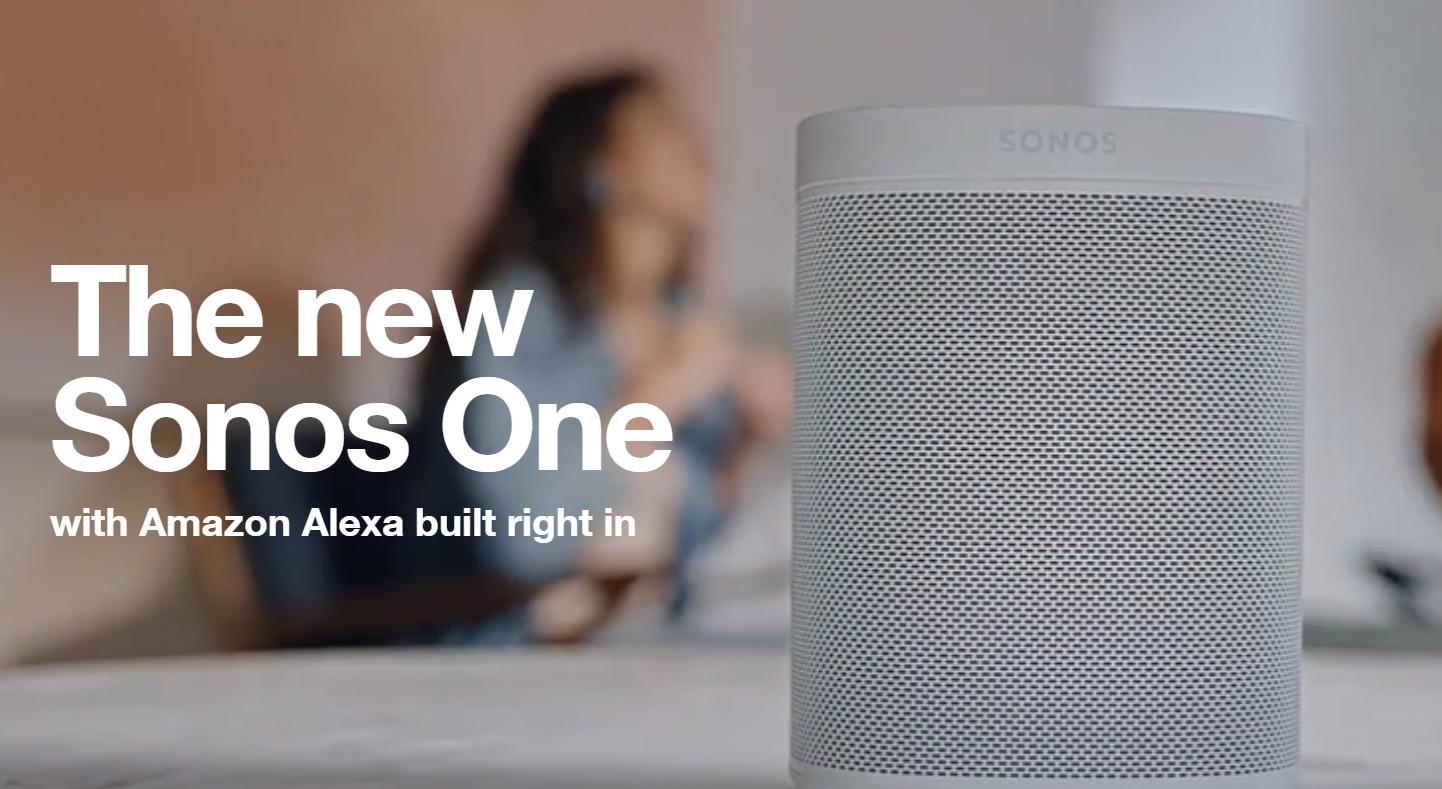 Sonos One lanseres 24. oktober.